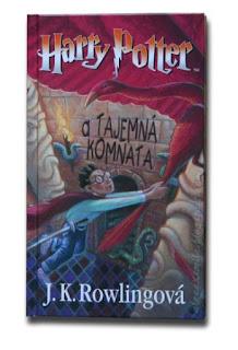 Harry Potter zagraniczne wydania - Czechy -a Tajemná Komnata