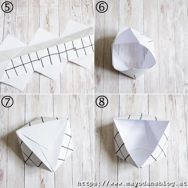 Anleitung zum Papierfalten
