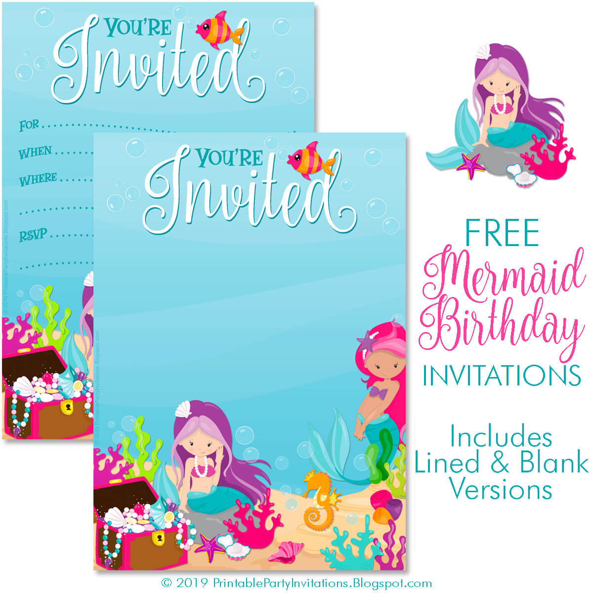 free printable party invitations free