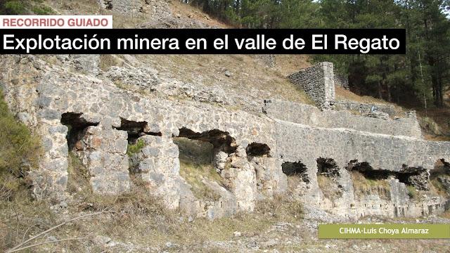 Restos de la minería de El Regato