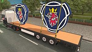 Trailer with Scania Big Logos