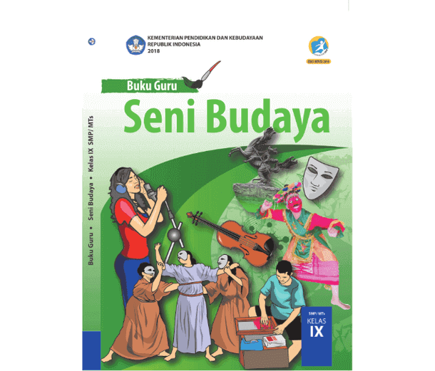 Buku Guru Seni Budaya SMP MTs Kelas 9 K13 Revisi 2018