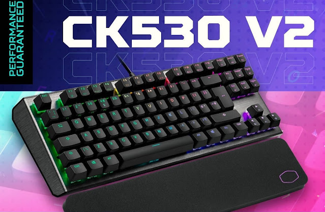 New CK530 V Mechanical Gaming Keyboard by Cooler Master Launched - comes with Wrist Rest and RGB Back-lighting | TechNeg