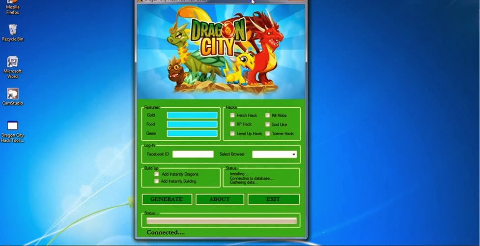 Dragon City Hack Gold Food Gem Cheats