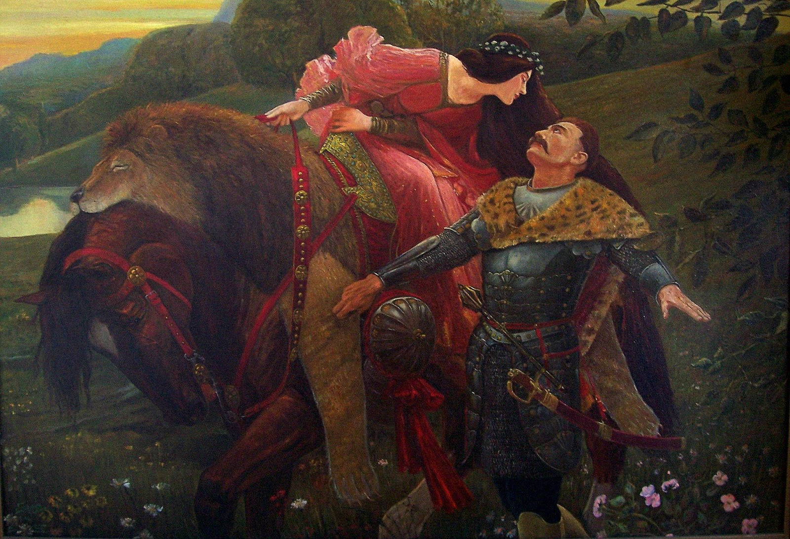 la belle dame sans merci annotations La belle dame sans merci ballad there are two versions of this very famous ballad the first version is from the original manuscript and the second version is its first published form.