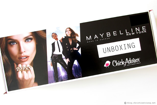 ChickAdvisor Unboxing - Maybelline New York