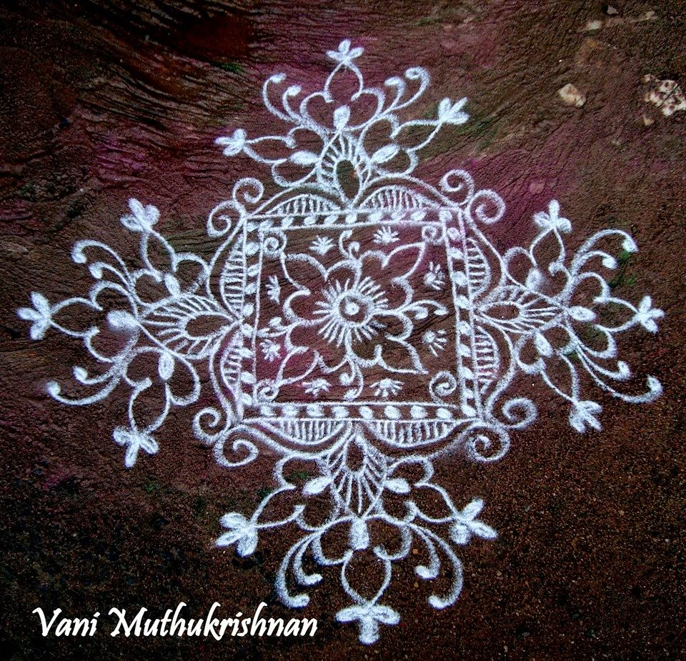 45 Kolam Designs For Festivals