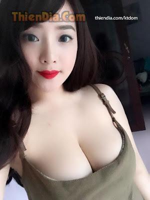 Gái xinh Giang cao người nhỏ ngực siêu to 1
