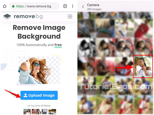 Well, today am going to show you guys how to remove image background without using any Pc/Android application.