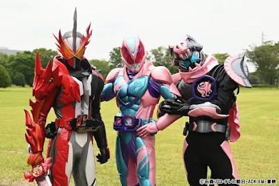 Kamen Rider Saber X Kamen Rider Revice Team-up Special Announced