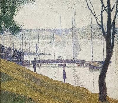 Le Pont de Courbevoie par Georges Seurat