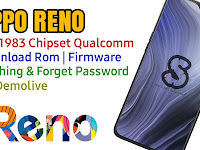 Download Rom Official / Flashing Oppo Reno Cph1983 Qualcomm Lupa Password, Pola, Fix Demo Live