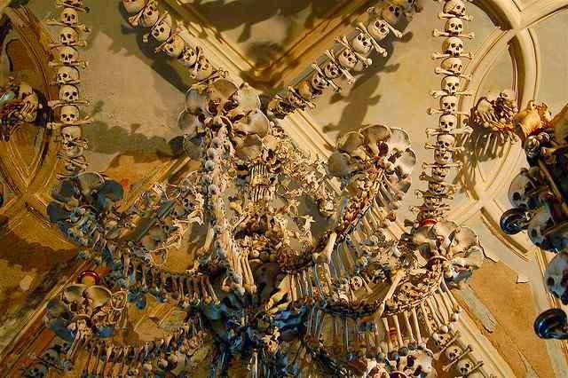 lustre,ossos,ossário,arte,gotico