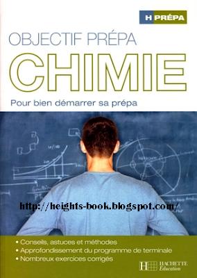 Télécharger Livre Gratuit Objéctif prépas chimie PDF