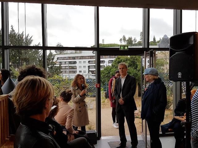 Delphine Levy, de la mairie de Paris, présente la nouvelle maison de Balzac