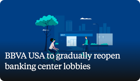 BBVA USA to gradually reopen banking center lobbies