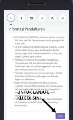 daftar surat izin mengemudi sim online - step 2