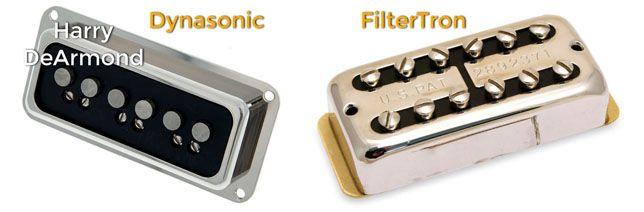 Pastillas o Pickups de las Guitarras Gretsch: Dynasonic y Filtertron