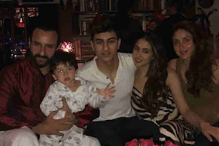 Sara Ali Khan With Her Father