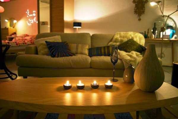 Diwali Diya Home Decoration Pics