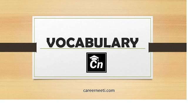 Voacbulary, Careerneeti Logo, www.careerneeti.com