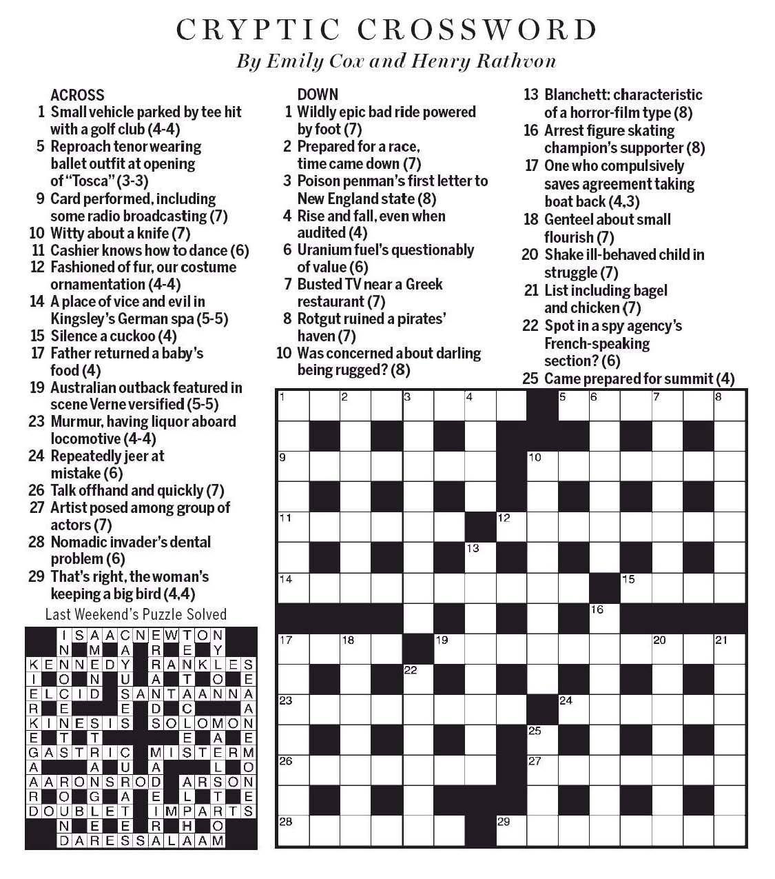 Evil Spirit Crossword Clue Opera News Kenya