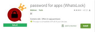 cara membuat password dengan whatslock