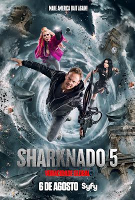 Sharknado 5 - Voracidade - Divulgação