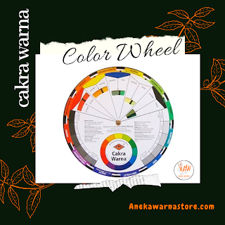 JUAL ABC COLOR WHEEL / CAKRA WARNA