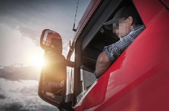 Un camionero mendocino sacó una extraña fotografía en la ruta 7