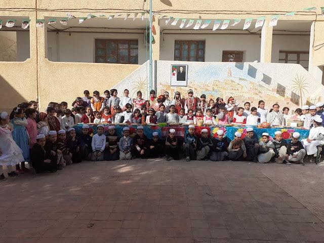 مدرسة بغرداية بالجزائر يتحفلون بالسنة الأمازيغية 2970