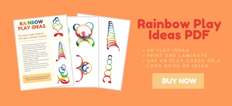 wooden rainbow play ideas pdf download