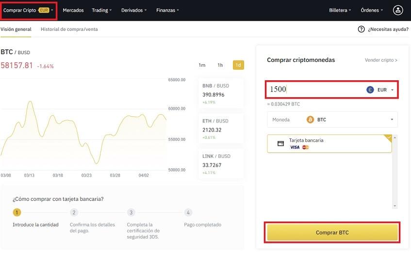 Comprar GT COIN por Bitcoin en Binance Guía Fácil