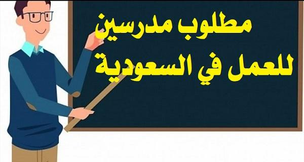 بمرتبات مجزية - السعودية تبدأ في طلب معلمين من جميع التخصصات
