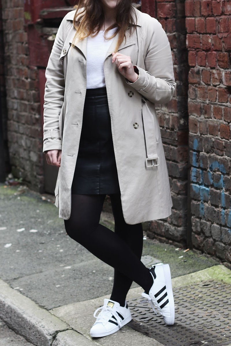 Laura Ashley trench coat | www.itscohen.co.uk