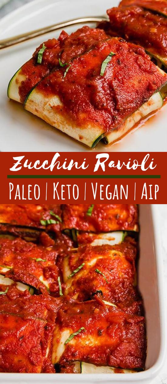 Zucchini Ravioli #healthy #vegan
