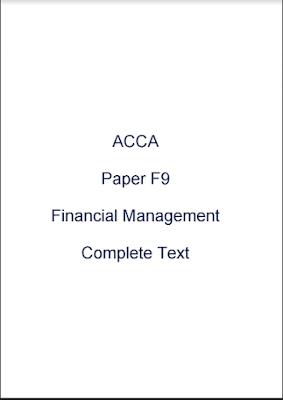 F9 kaplan pdf acca