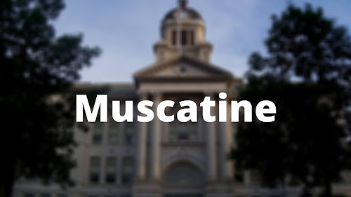Iowa best place Muscatine