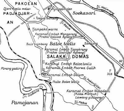 Letak Geografis Kerajaan Pajajaran
