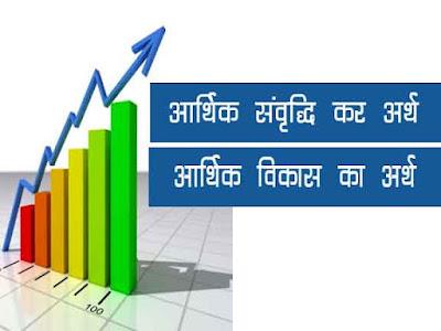 आर्थिक संवृद्धि और आर्थिक विकास | आर्थिक विकास का अर्थ |Economic growth and economic Development