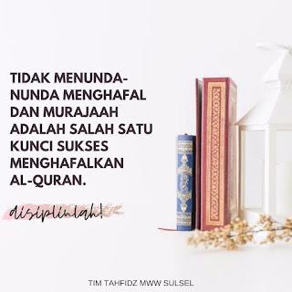 Menghafal al Qur'an adalah tentang kesetiaan