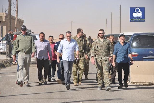 مسؤول سعودي رفيع المستوى في شمال سوريا