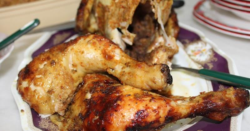 Resepi Ayam Panggang Madu Rosemary - Prince Killer Lee