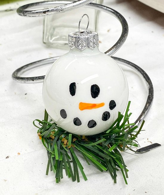 Snowman Ornaments for Christmas Craft Fairs