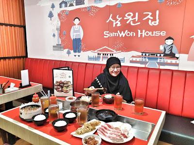 menu dan harga di SamWon Express Lampung