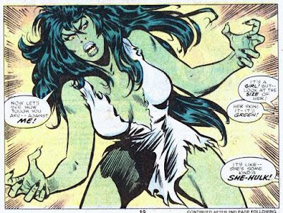 Savage She-Hulk #1, She-Hulk appears
