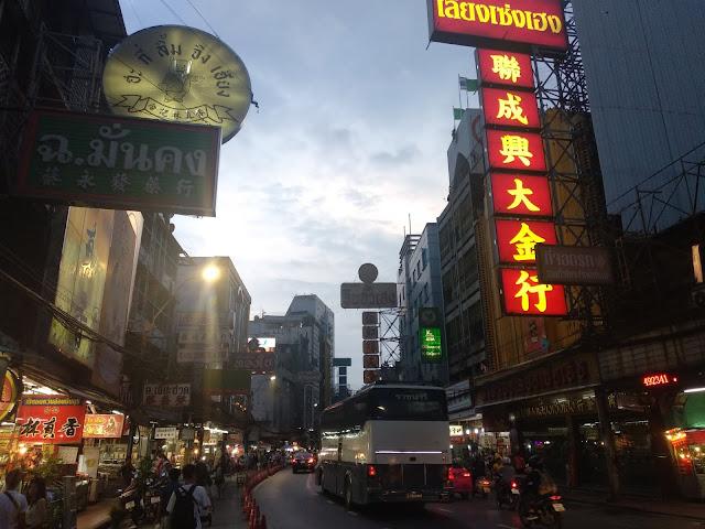 Yaowarat Road China Town Bangkok