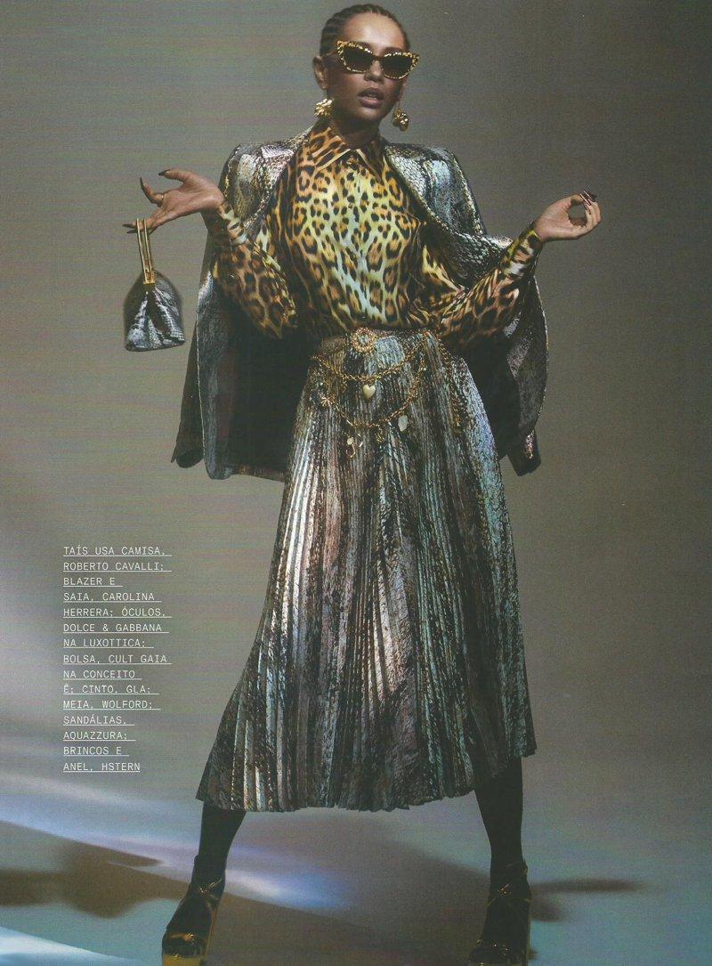 Editorial de Moda com Taís Araujo cheio de gingado e riqueza
