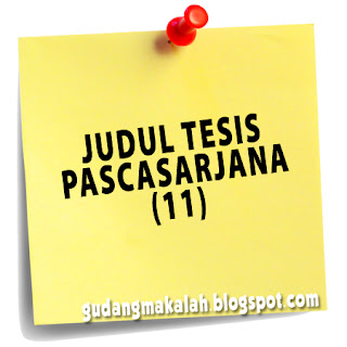JUDUL TESIS PASCASARJANA (11)