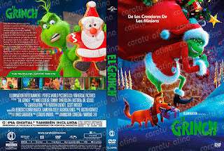 The Grinch - El Grinch - Cover DVD